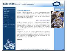 De website van CrossWord Translations