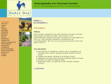 De website van Dobry Den