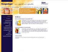De website van Hoogesteger