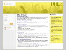 De website van Site-C Live