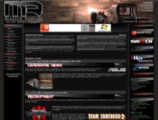De website van Massive Rampage