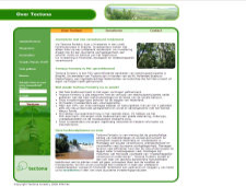 De website van Tectona Forestry