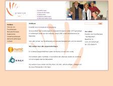 De website van Praktijk voor Fysiotherapie De Meenthof