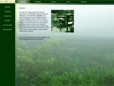 De website van Eco Capital