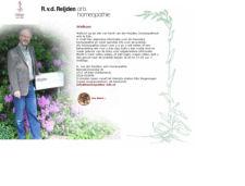 De website van R.v.d. Reijden Homeopatisch arts